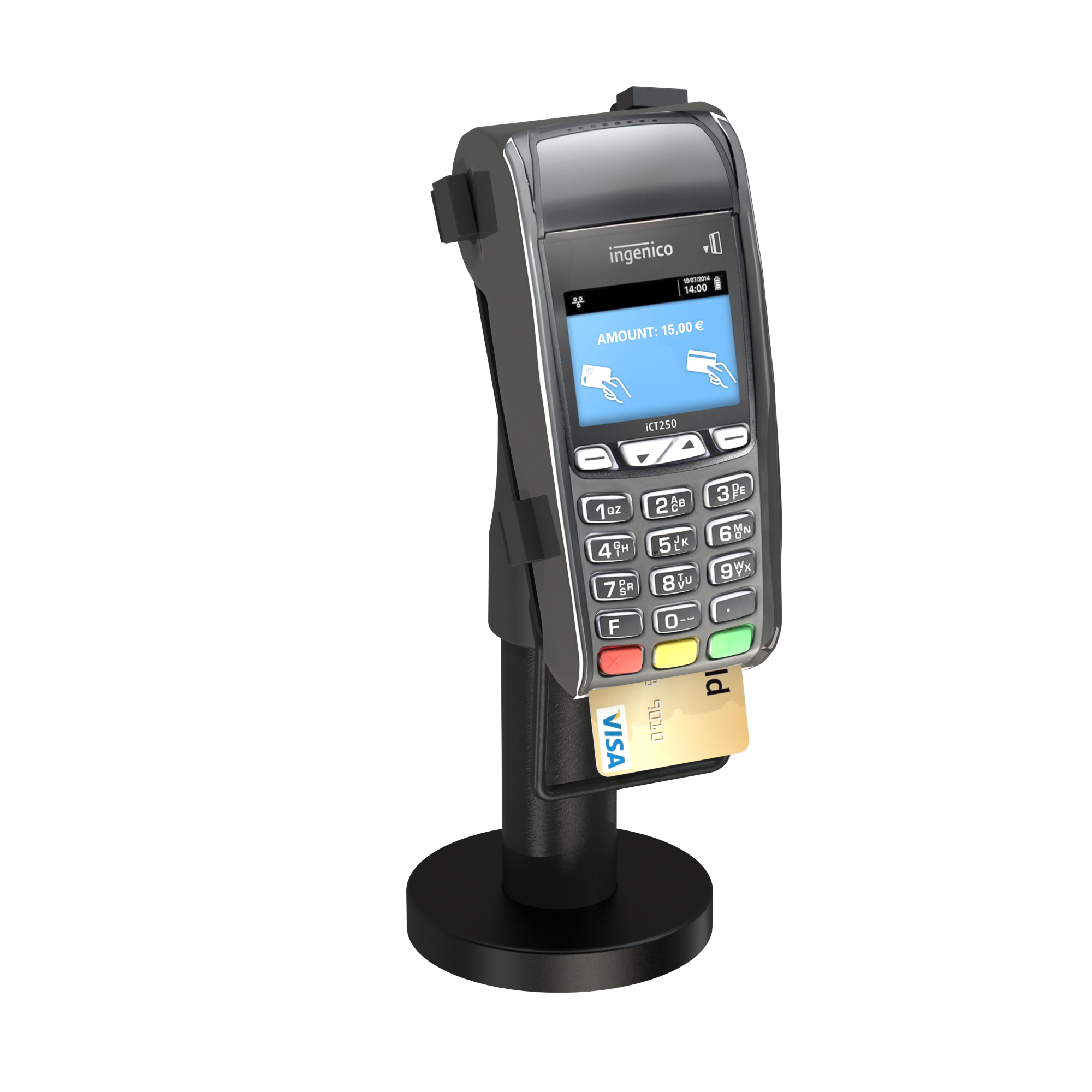 point of payment stand for EFT POS Credit Card Payment Terminal